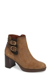 Hispanitas Delany Bootie Taupe Shine Taupe Leather