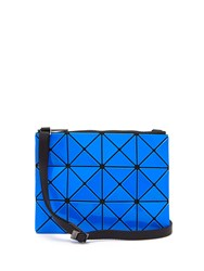 Issey Miyake Lucent Cross Body Bag Blue Multi