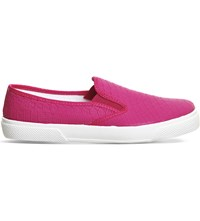 Office Kicker Snake Embossed Skate Shoes Pink Snake