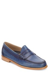 G.H. Bass And Co. 'Larson Weejuns' Penny Loafer Navy Navy Leather