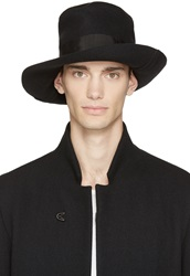 Attachment Black Wool And Cashmere Hat