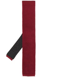 Canali Squared Tip Tie 60