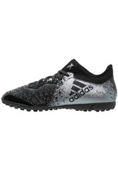 Adidas Performance X 16.3 Cage Astro Turf Trainers Core Black Dark Grey Solar Red