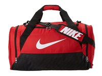 Nike Brasilia 6 Medium Duffel Gym Red Black White Duffel Bags