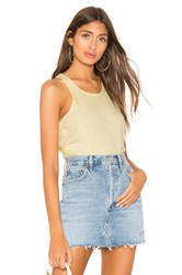 Frank And Eileen Tee Lab Base Layer Tank Yellow