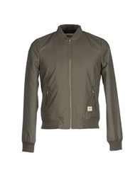 Wemoto Coats And Jackets Jackets Men Military Green