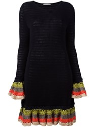 Marco De Vincenzo Knitted Dress Black