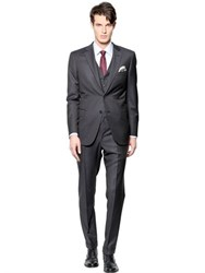Brioni Brunico Super 150'S Wool Microcheck Suit