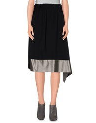 Balenciaga Knee Length Skirts Black