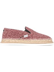 'Flying Kenzo' Espadrilles Red