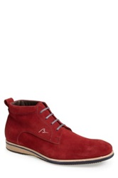 Bacco Bucci 'Vialli' Chukka Boot Men Red