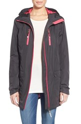 Women's Pajar 'Gabriella' Contrast Zip Hooded Raincoat