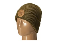 686 Good Times Roll Up Beanie Olive Drab Knit Hats