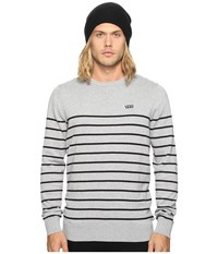 Vans Livingston Cement Heather Black Men's Clothing White