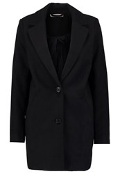 Noisy May Nmcoloring Classic Coat Black