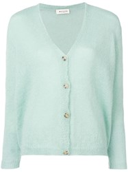 Masscob Fitted Cardigan Green