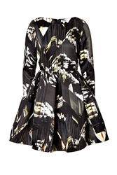 Kenzo Twill Mountains Dress