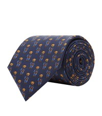Polo Ralph Lauren Silk Bear Tie Navy
