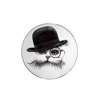 Rory Dobner Perfect Plates Cat In Tilted Hat Small