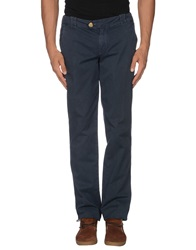 Mastai Ferretti Casual Pants Dark Blue