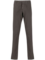 Berwich Check Tailored Trousers Brown