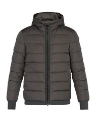 Herno Hooded Down Filled Coat Grey