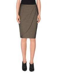 Antonio Fusco Skirts Knee Length Skirts Women Grey