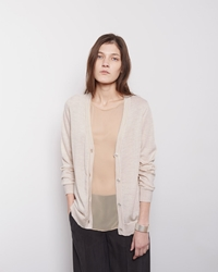 Maison Martin Margiela Line 1 Layered Cardigan Peach