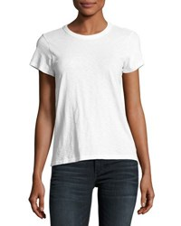 Rag And Bone The Crewneck Tee White