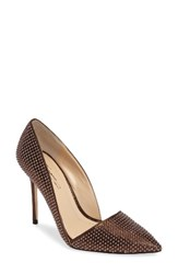 Imagine By Vince Camuto Women's 'Ossie' D'orsay Pump Copper Suede