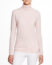 C By Bloomingdale's Turtleneck Cashmere Sweater Nude