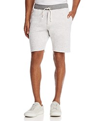 Sol Angeles Peppered French Terry Shorts Light Gray