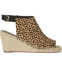 Kg By Kurt Geiger Nelly Wedges Tan Comb