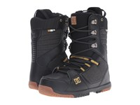 Dc Mutiny Boot Black Gold Men's Cold Weather Boots