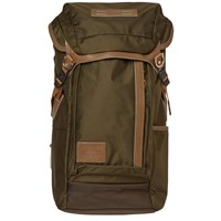 Master Piece Potential Leather Trim Backpack Green