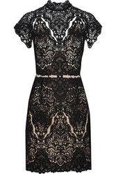 Catherine Deane Java Guipure Lace Dress Black