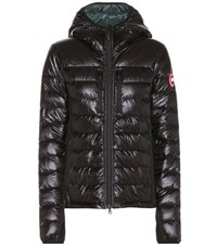 Canada Goose Hooded Hybridge Jacket Black