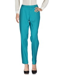 Paul Smith Casual Pants Turquoise