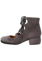 Chie Mihara Enamorada Ankle Boots Carbon Taupe