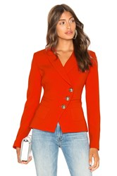 Smythe Wrap Blazer Red