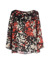 Aglini Blouses Red