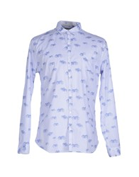 Individual Shirts Shirts Men Blue