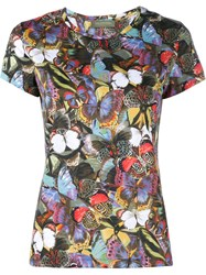 Valentino Camubutterfly Print T Shirt Multicolour