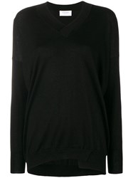 Snobby Sheep Knitted Long Sleeved Top Black