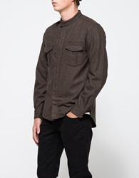Shades Of Grey Military Overshirt Heather Olive