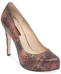 Bcbgeneration Parade Platform Pumps Women's Shoes Cayenne Red