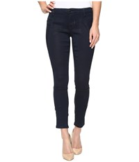 Blank Nyc Navy Blue Moto Skinny In Midnight Ink Midnight Ink Women's Jeans