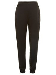 Sonia Rykiel Tapered Leg Satin Trousers