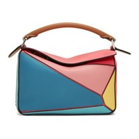 Loewe Multicolor Small Puzzle Bag