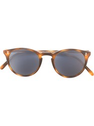 The Row Cat Eye Sunglasses Brown
